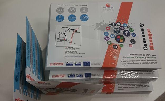 Flyer - plaquette A4 1 pli