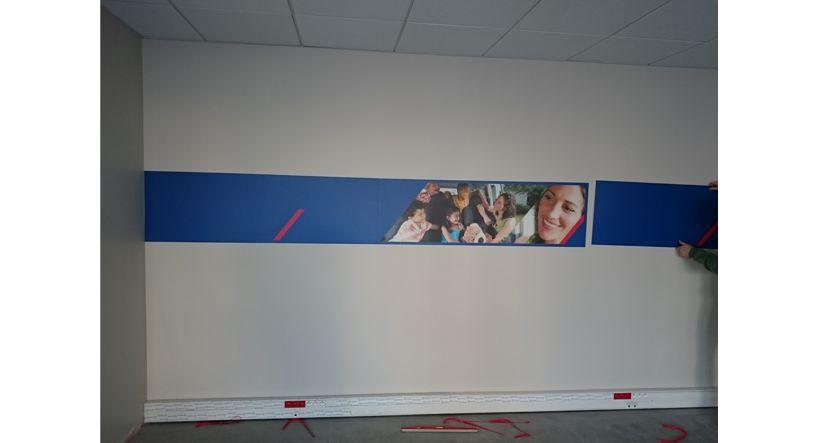 Frise panneau mural